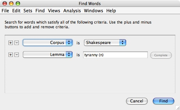 vocabulary subscale search corpora